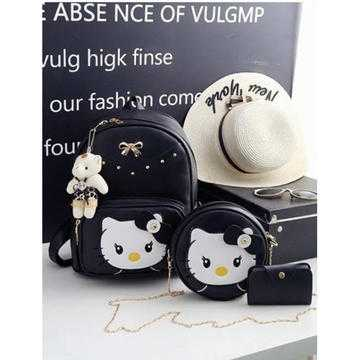 Set rucsac dama Hello Kitty