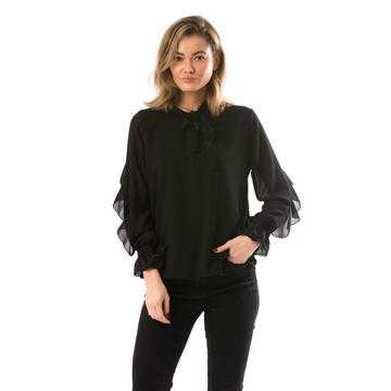 Bluza voal Black Swamp