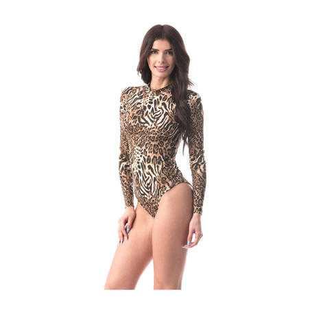 Body cu animal print leopard
