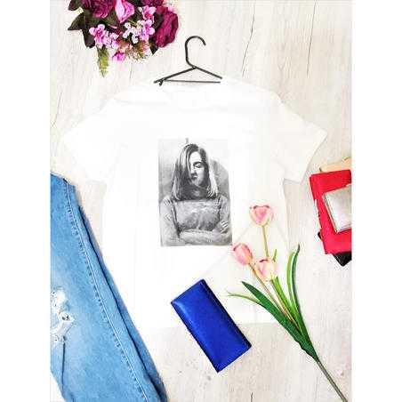 Tricou Vintage vascoza cu print