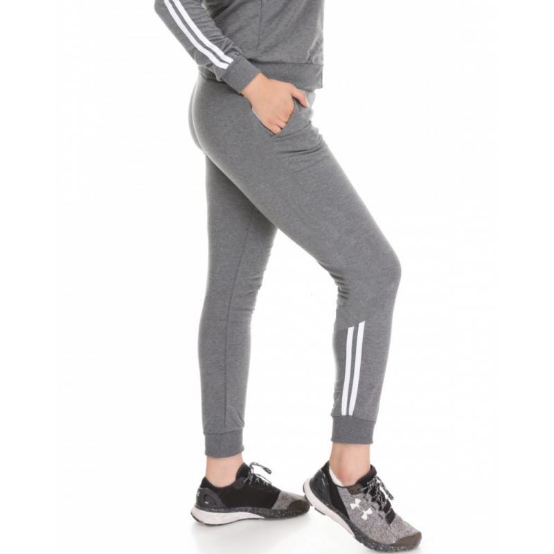 Pantaloni trening Batal, gri, bumbac
