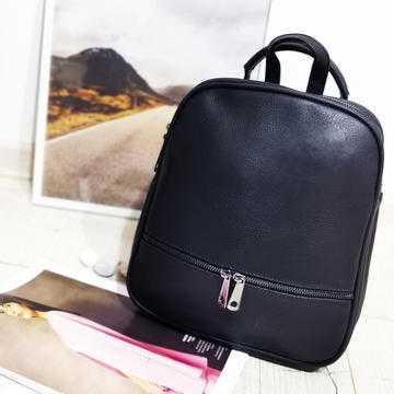 Rucsac convertibil Next Travel,negru, piele ecologica